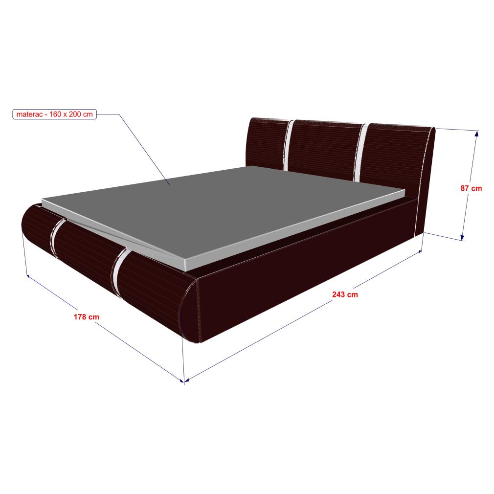 Wymiary łoża R-2 130